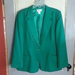 Green Vintage Pendleton Blazer
